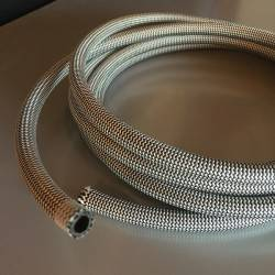Flexible tube for low pressure brake line