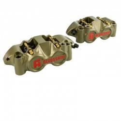 Etrier de frein radial CNC 108 mm Pistons Titane Accossato