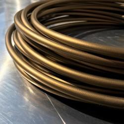 Brake Hose Dash 3 - PVC cover Gold