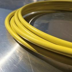 Brake Hose Dash 3 - PVC cover Yellow