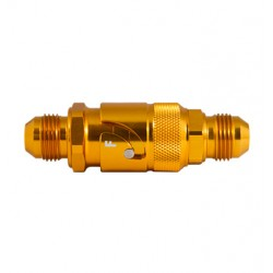 Fuelline quick coupling
