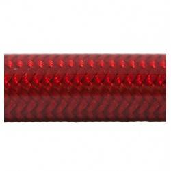 Brake Hose Dash 3 - PVC cover Neon Red