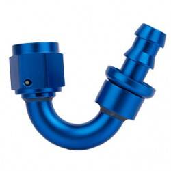 PUSH-LOCK anodized reusable 150° fitting