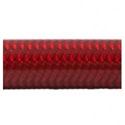 Banjos Inox, Durite Avia Rouge Néon 31-49 cm